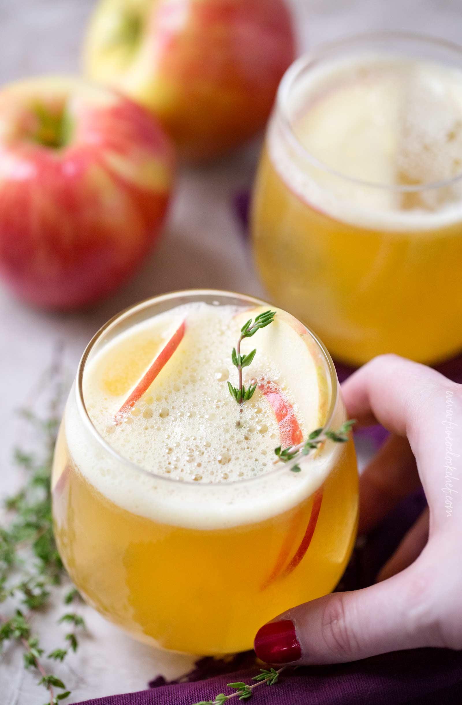 Maple HoneyCrisp Bourbon Cocktail Recipe - Off The Muck ...